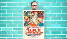 Alice in Wonderland movie poster - Wall Art Print Poster Pick A Size - Vintage Movie Art Geekery